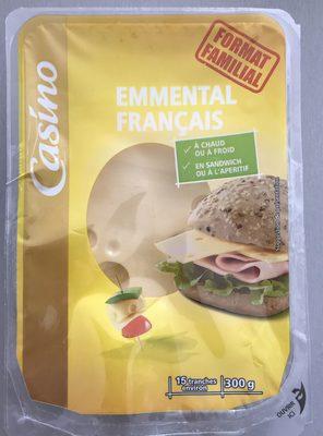 Emmental Français - 15 tranches environ - Product