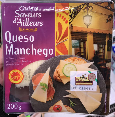 Saveurs d'Ailleurs Queso Manchego - Product - fr