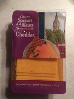 Cheddar - 10 tranches - Product - fr