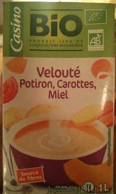 Velouté potiron carottes et miel BIO - Product