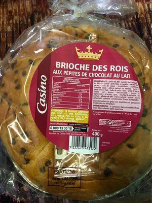 Brioche des rois aux pépites de chocolat au lait - Product - fr