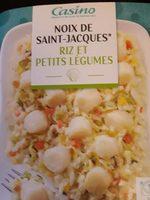Noix de Saint-Jacques* riz et petits légumes - Product