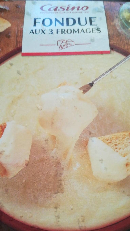 Fondue aux 3 Fromages - Produit