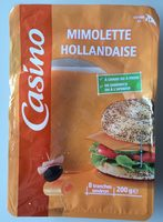 Mimolette Hollandaise - 8 tranches environ - Product