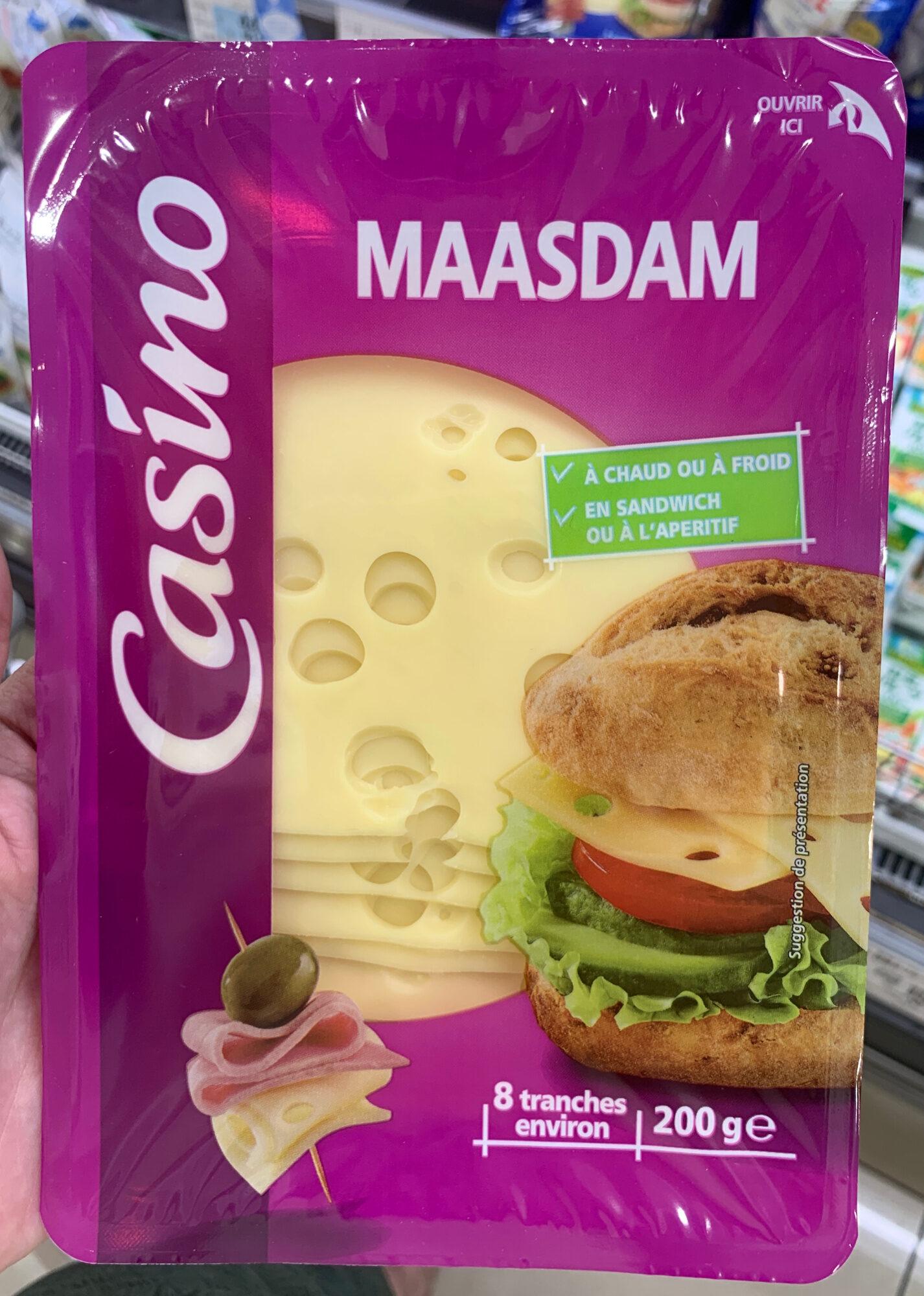 Maasdam - 8 tranches environ - 製品 - ja