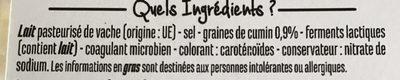 Dés de Gouda au cumin - Ingrediënten - fr