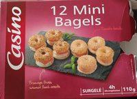 12 Mini Bagels - Product