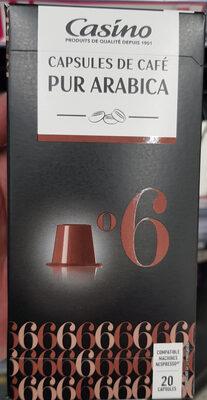 Capsules de café -Pur arabica - Prodotto - fr
