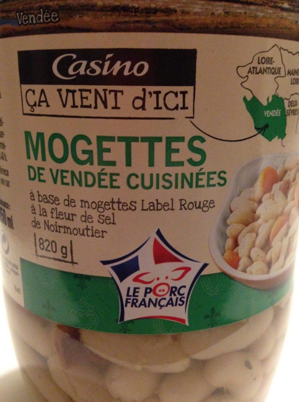 Mogettes de Vendée cusinées à base de mogettes Label Rouge à la fleur de sel de Noirmoutier - Product - fr
