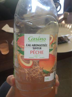 Eau aromatisée saveur pêche - 1
