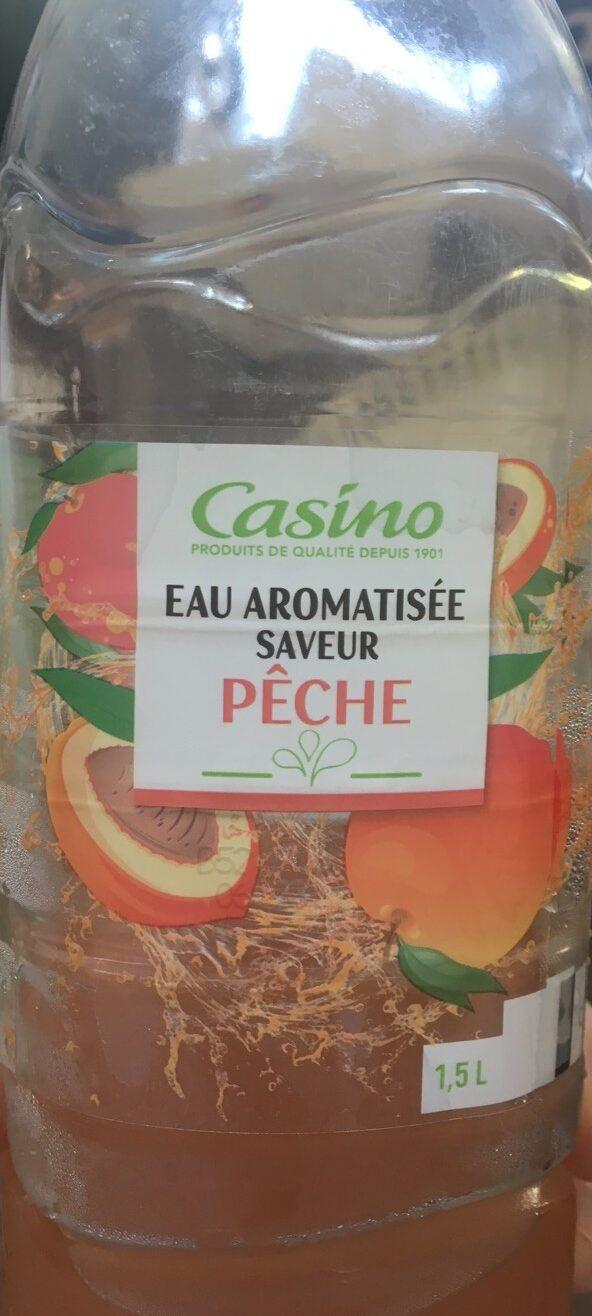 Eau aromatisée saveur pêche - Produit - fr