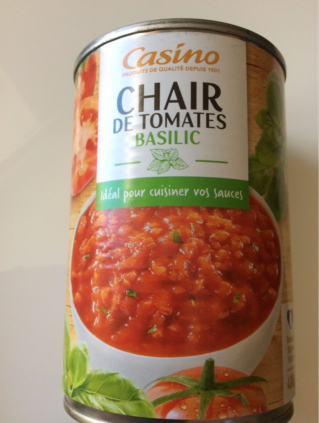 Chair de tomate basilic - Producto - fr