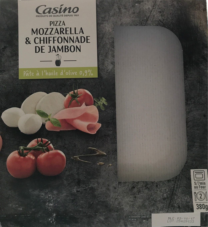 Pizza jambon mozzarella - Produit