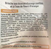 Pogne de Romans - pur beurre - Ingredients