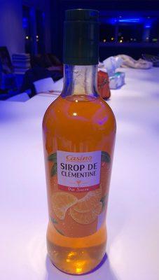 Sirop de clémentine pur sucre - Product - fr
