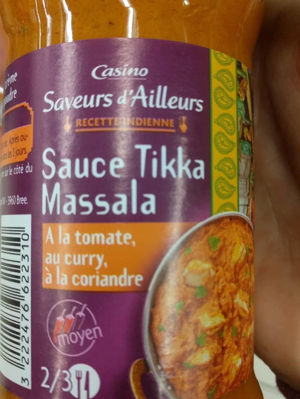 Sauce tikka massala - Produit - fr