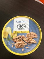 Emietté de thon mariné citron romarin - Produit