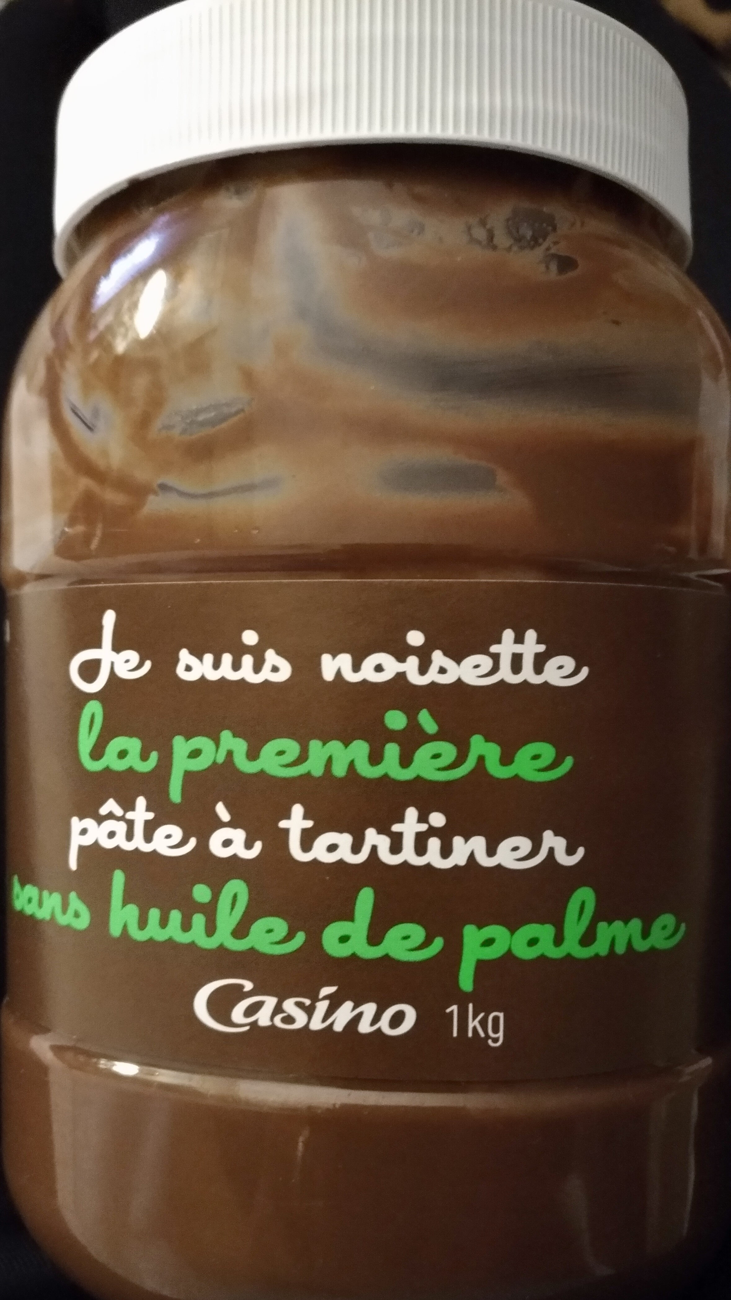 Je suis Noisette la première pâte à tartiner sans huile de palme - Product - fr
