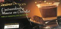 L'extraordinaire mousse au chocolat sur croustillant au praliné - Product