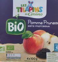 Pomme pruneau BIO, sans morceaux - Produit