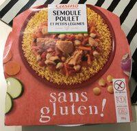 Semoule Poulet et Petits Légumes sans gluten - Produit