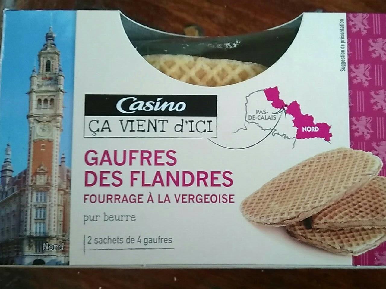 Gaufres des Flandres fourrage à la vergeoise - Product - fr