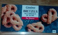 Bretzels aux cristaux de sucre - Product - fr