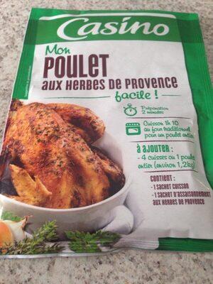 Sachet cuisson poulet herbes de Provence - Product - fr