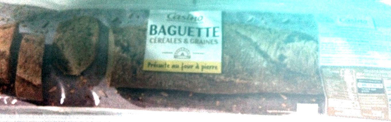 Baguette céréales et graines - Précuite au four à pierre - Product - fr