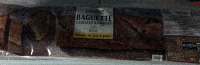 Baguette céréales et graines - Product - fr