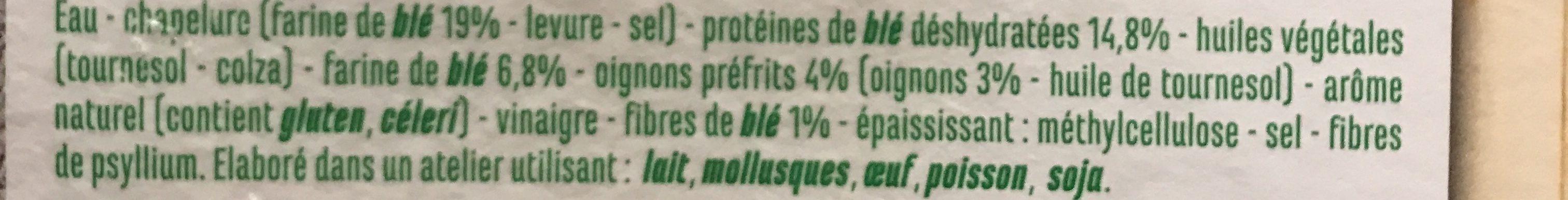 Nuggets de blé - Ingredients