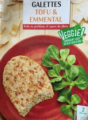 Galettes tofu & emmental - Produit