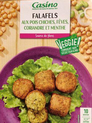 Falafels aux pois chiches, fèves, coriandre et menthe - Product