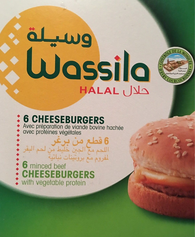 Cheeseburgers halal - Product