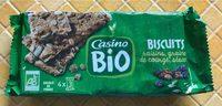Biscuits raisins, graines de courge, sésame - Product - fr