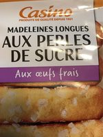 Madeleines Longues aux Perles de Sucre - Product