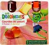Gourdes de yaourt - 3 fraise - abricot - Product