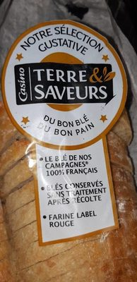 Pavé à base de farine Label Rouge - Produit - fr