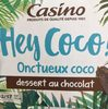 Hey Coco ! Dessert au chocolat onctueux coco - Product