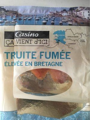 Truite fumée élevée en eau douce en Bretagne - Product - fr