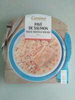 Pavé de saumon à l'aneth et son riz - Produit