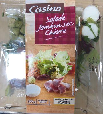 Salade jambon sec chèvre - Product - fr