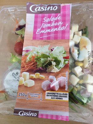 Salade jambon emmental - Produit