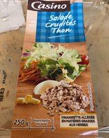 Salade thon crudités - Product