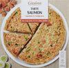 Tarte saumon - Saumon et poireaux - Product