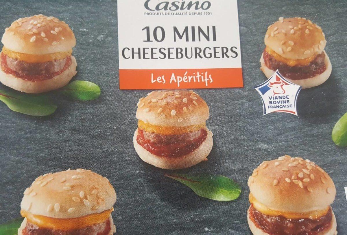 10 mini cheeseburgers - Product