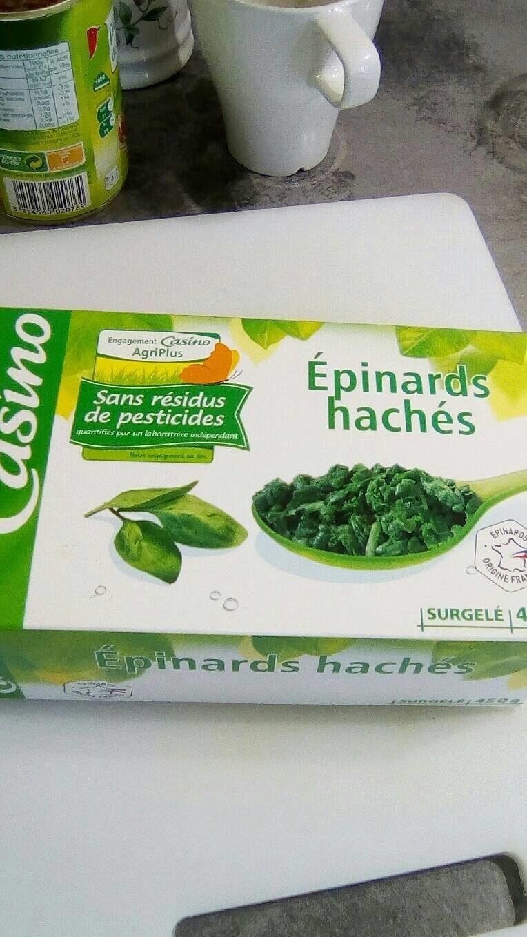 Epinards hachés - Voedingswaarden