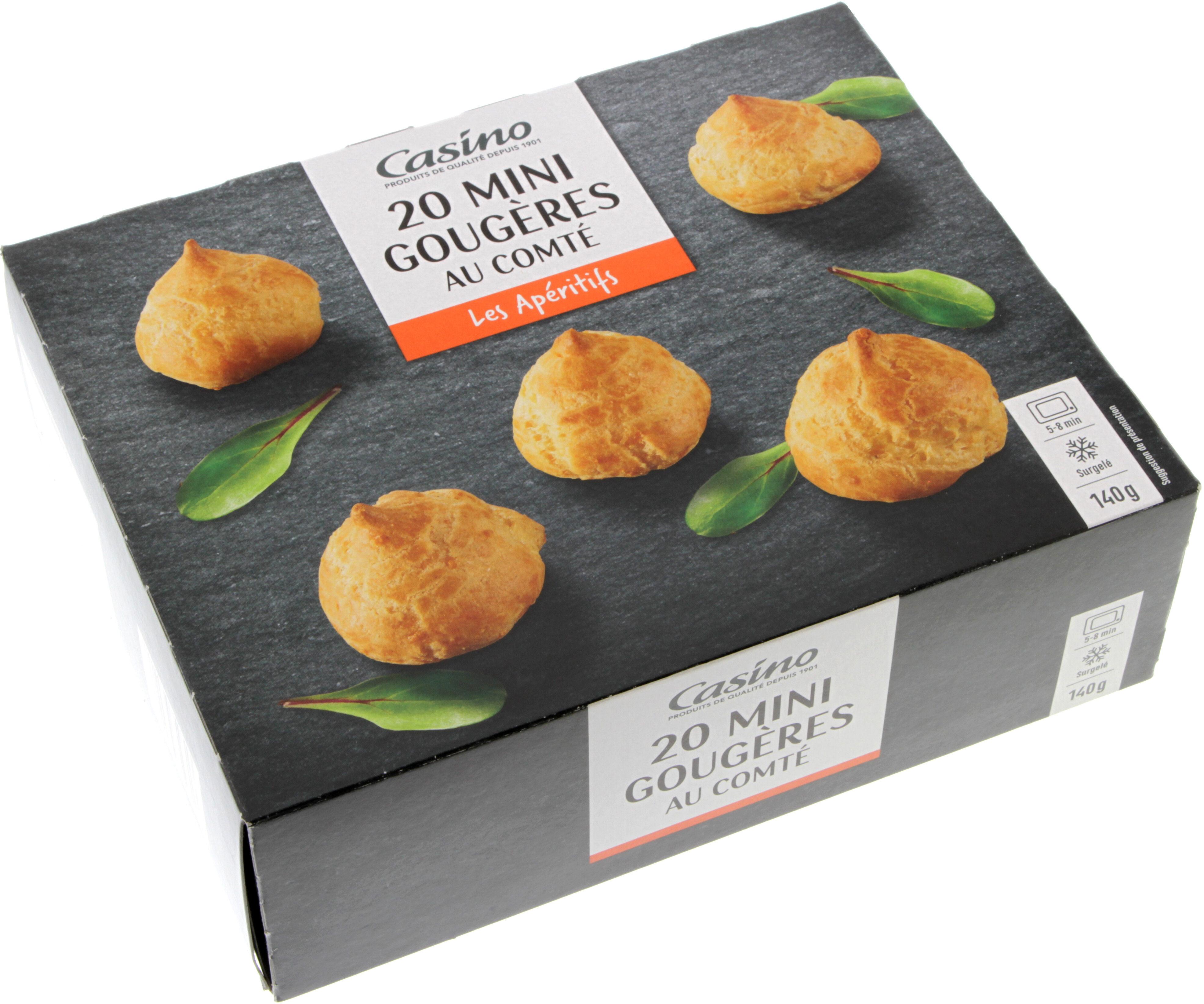 20 Mini gougères au Comté - Produit