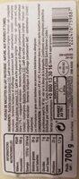 Assortiment de Raclettes Nature, aux Poivres, Fumée - Informations nutritionnelles - fr