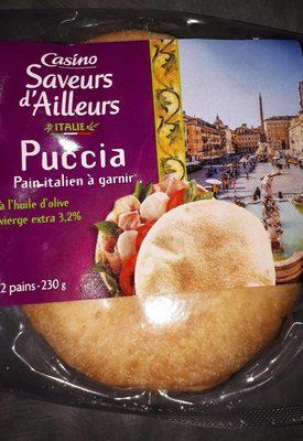 Puccia - Pain italien à garnir - 2 pains - Product